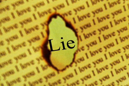 love is a lie