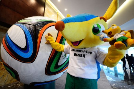 world cup mascot