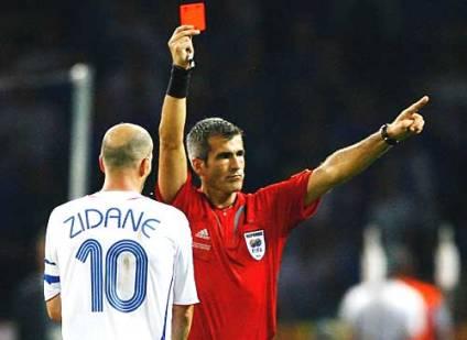 zidane-redcard