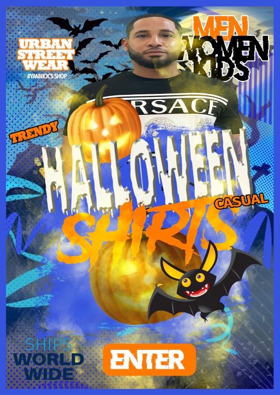 halloween shirts banner